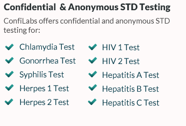 Confidential & Anonymous STD Testing