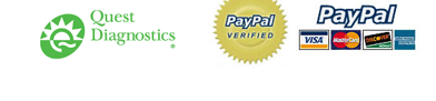 Quest Diagnostics, PayPal Verified